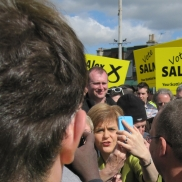 Nicola connecting at Inverurie